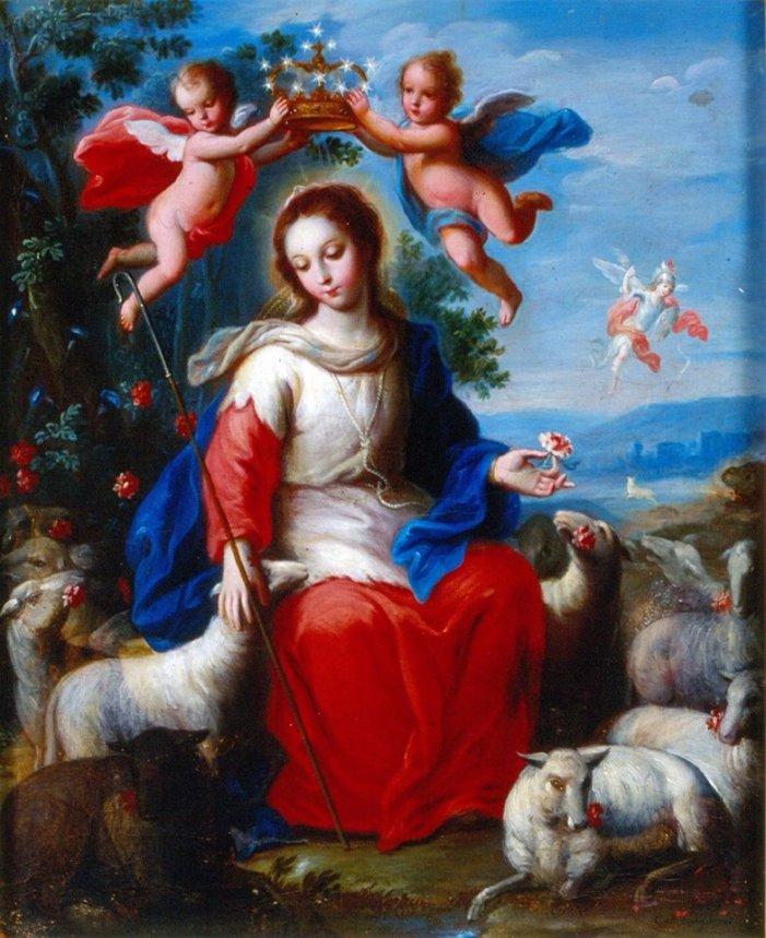Maria Divina Pastora e Madre del Buon Pastore