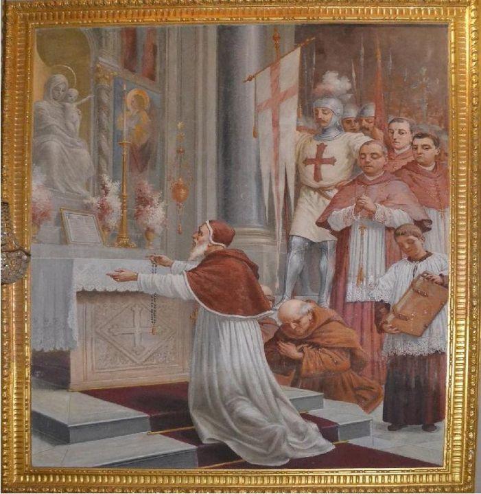 """La bolla """"Consueverunt"""" di S. Pio V sul Santo Rosario"""