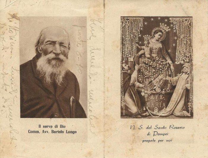 Bartolo Longo, da 'sacerdote' spiritista ad apostolo del Rosario