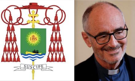 I migranti nello stemma del neo-cardinale Michael Czerny