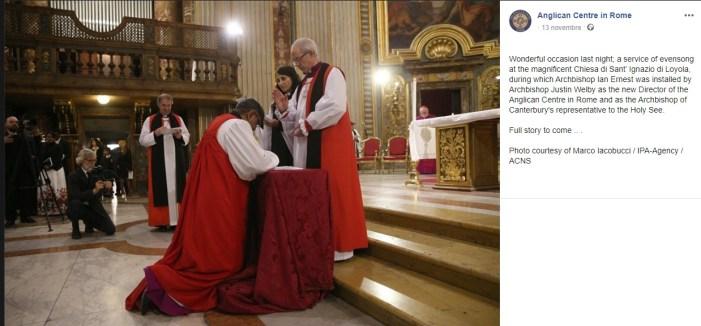 Rito anglicano nella chiesa romana di Sant'Ignazio. Una tradizione postconciliare
