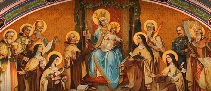 [DIFUNDE TU FE CATOLICA] CONMEMORACIÓN DE TODOS LOS SANTOS DE LA ORDEN DEL CARMEN, aquellos que supieron vivir en obsequio de Jesucristo por medio de María