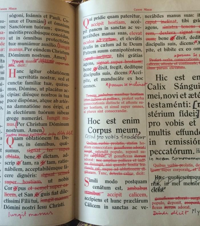 Il vero problema è la nuova messa non le nuove traduzioni!