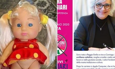 Linciaggio social per candidata in Emilia che combatte il gender