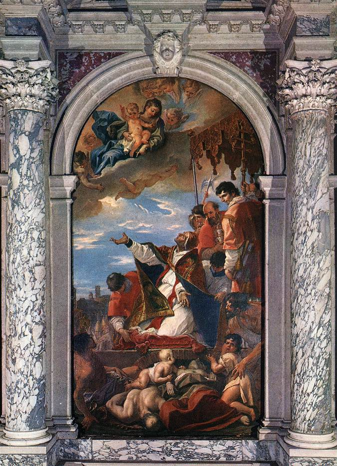 Preghiera a Maria Stella del cielo e Stella del mare per essere preservati dalla peste e da ogni epidemia.
