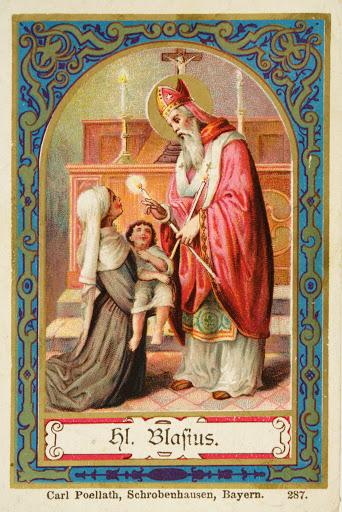 San Biagio e la benedizione della gola