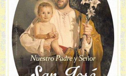 [DIFUNDE TU FE CATOLICA] FESTIVIDAD DE SAN JOSÉ, ESPOSO VIRGINAL DE MARÍA, PATRONO DE LA IGLESIA UNIVERSAL