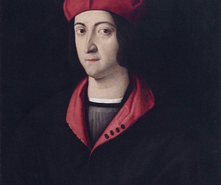 [ROSSO PORPORA] Ippolito d'Este, Cardinal di Ferrara.