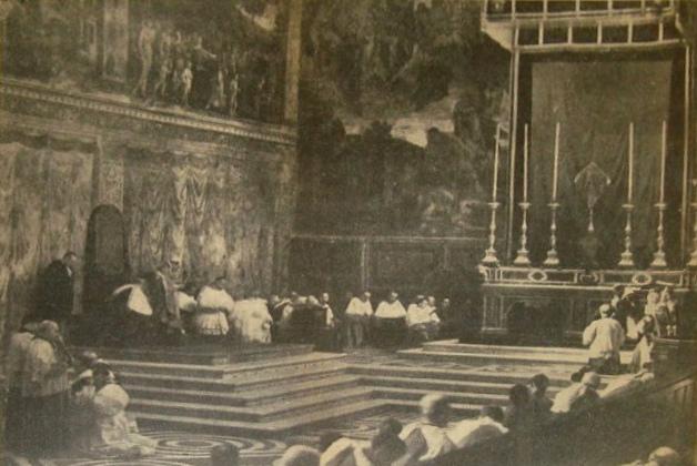 Il Venerdì Santo nella Corte Papale