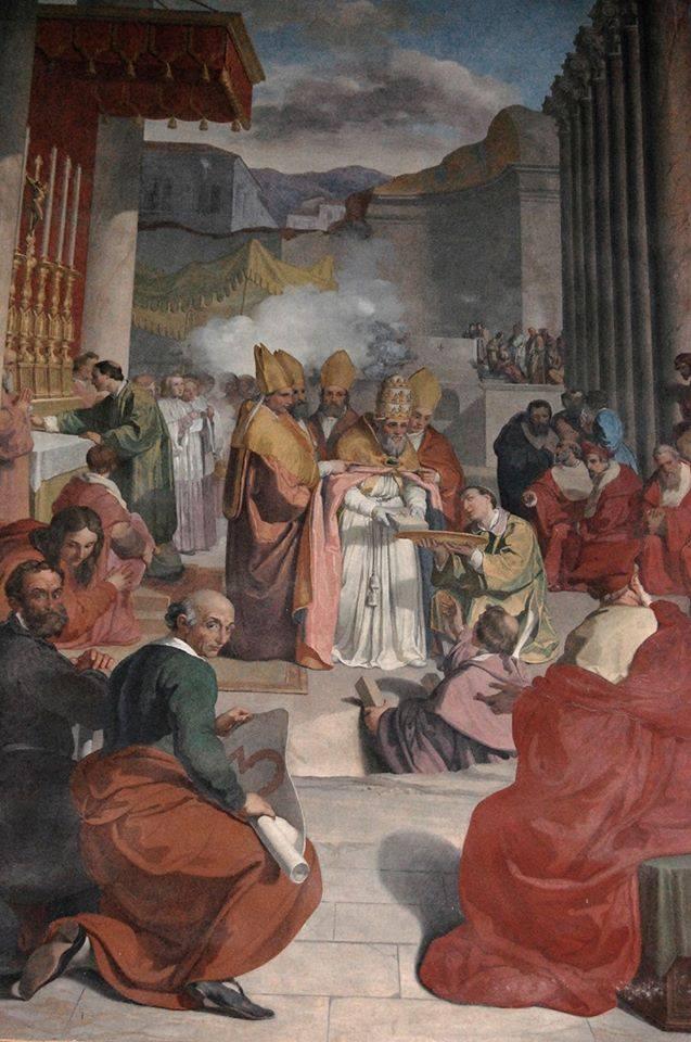 La prima pietra del Nuovo San Pietro