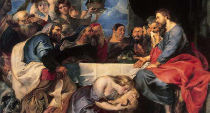 """""""Ungi con Maria i piedi del Signore"""" (S. Agostino)"""