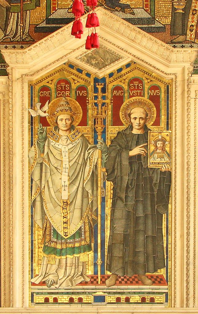 Sant'Agostino di Canterbury e la conversione degli Angli