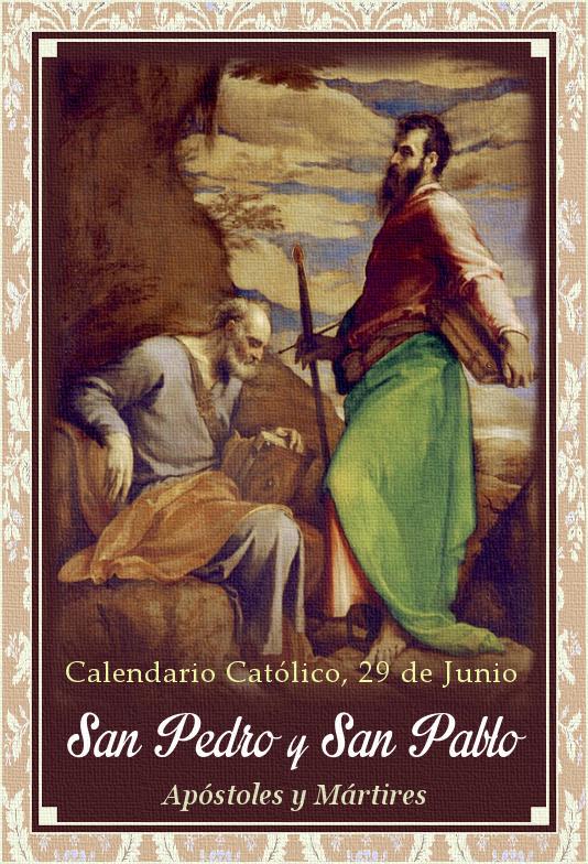 [DIFUNDE TU FE CATOLICA] SAN PEDRO Y SAN PABLO, la Autoridad y Doctrina Católica