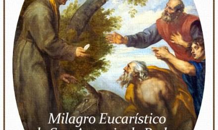 [DIFUNDE TU FE CATOLICA] MILAGRO EUCARÍSTICO DE SAN ANTONIO DE PADUA: la mula que se arrodilló ante Jesús Sacramentado