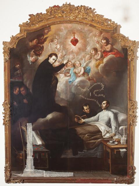 Il miracolo di S. Luigi Gonzaga per la propagazione del Sacro Cuore