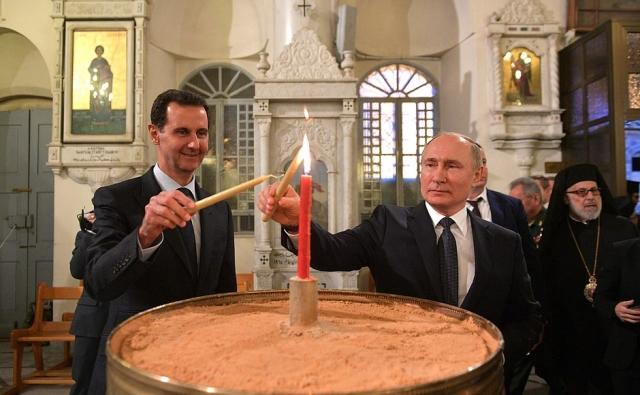 """Siria, il governo di Assad costruirà una """"Santa Sofia in miniatura"""" con il sostegno russo"""