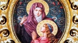 """""""Tre volte beata Anna, che ha messo al mondo Maria"""" (San Giovanni Damasceno)"""
