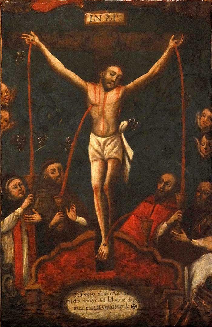 Sangue di Cristo, effuso in abbondanza, riversati su di noi!