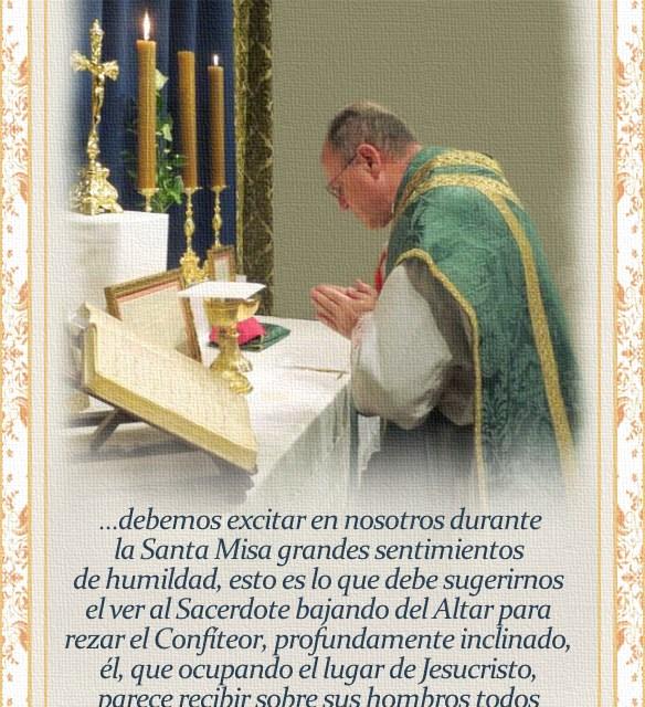 [DIFUNDE TU FE CATOLICA] EXPLICACIÓN DE LA SANTA MISA, por San Juan María Vianney, Cura de Ars. PARTE 4: Los sentimientos de humildad nos predisponen al Sacrificio de la Misa
