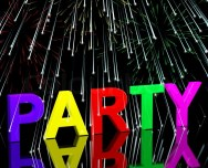 3974095-40360-party-word-with-fireworks-showing-clubbing-nightlife-or-disco