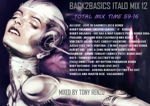 Back2Basics Italo Mix 12 Tony Renzo