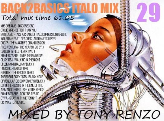 Back2Basics Italo Mix 29 Tony Renzo