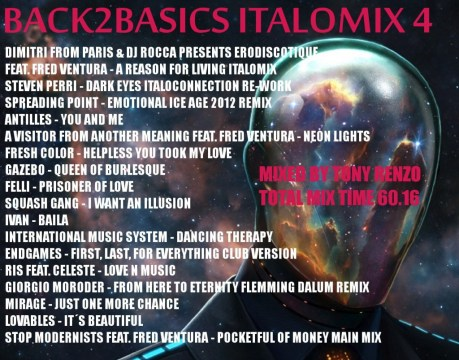 Back2Basics Italo Mix 4 Tony Renzo