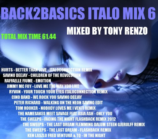 Back2Basics Italo Mix 6 Tony Renzo