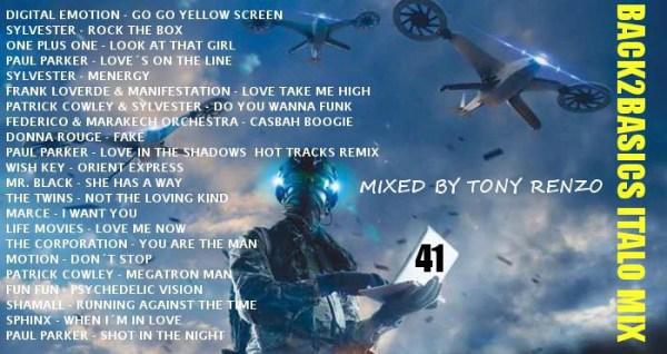 Back2Basics Mix 41 Tony Renzo