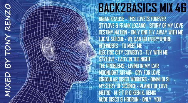 Back2Basics Mix 46 Tony Renzo