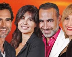 """Diego Ruiz, Francesca Nunzi, Maria Lauria e Sergio Muńiz ospiti a POLTRONISSIMA con """"Cuori Scatenati"""""""