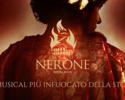 Giorgio ADAMO, Simona PATITUCCI e Ilaria DE ROSA ospiti a Poltronissima per DIVO NERONE – OPERA ROCK
