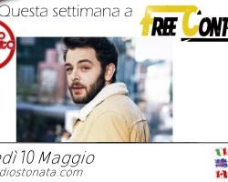 Lorenzo Fragola ospite a #freeCONTEnt giovedì 10 Maggio