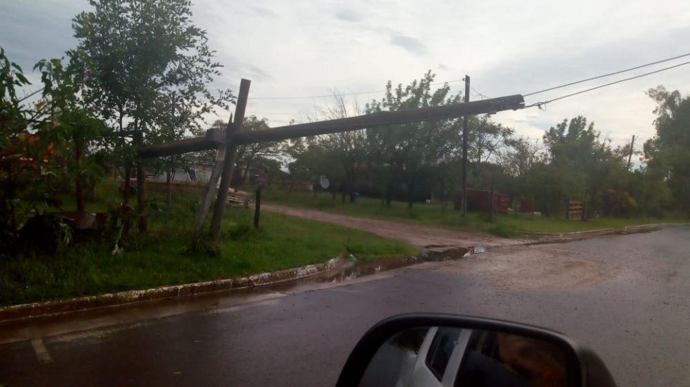 foto: Desde el 1 de enero que la lluvia no nos da tregua en Bonpland