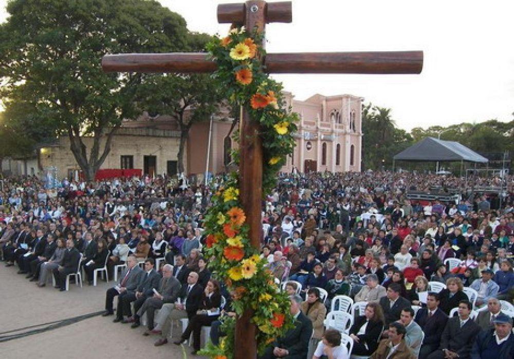 foto: Corrientes se prepara para vivir el Día de la Cruz de los Milagros