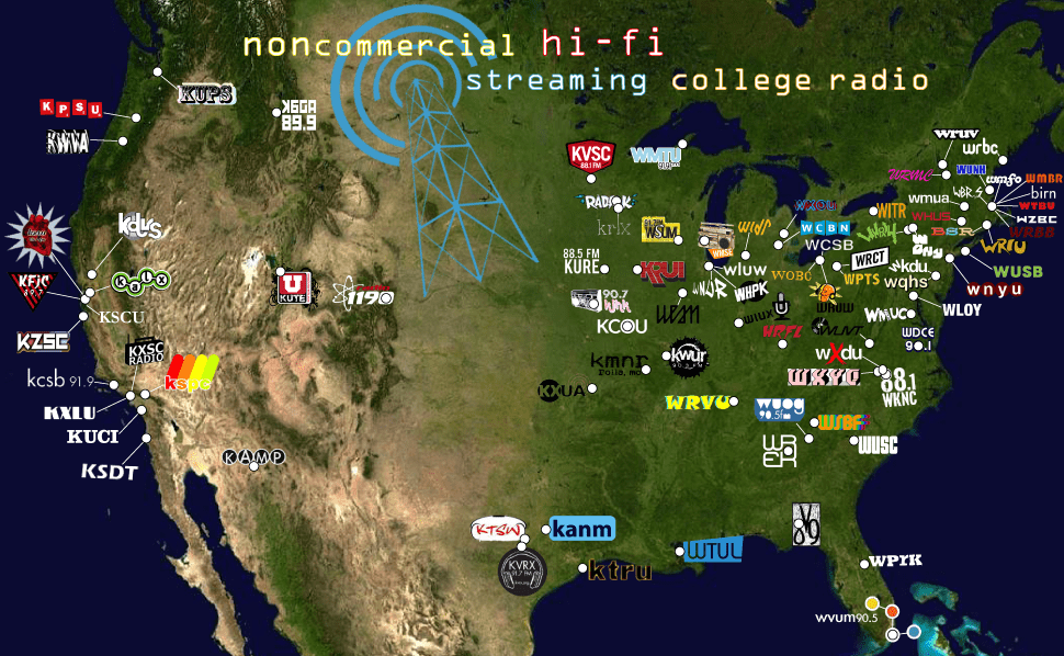 Zoomout's college radio map