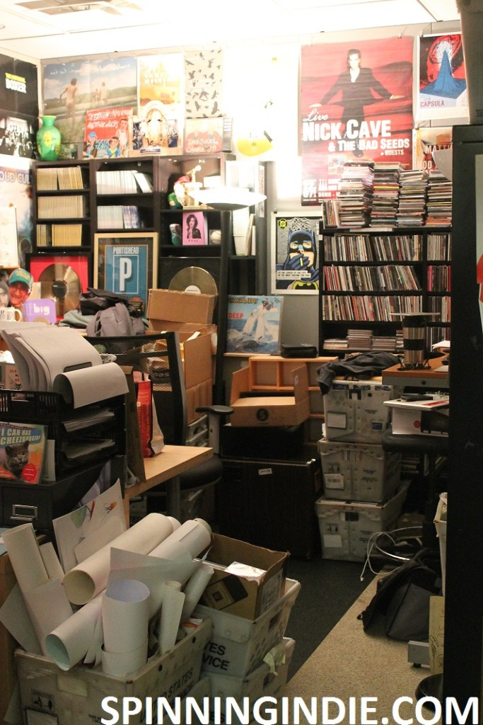 office at KEXP