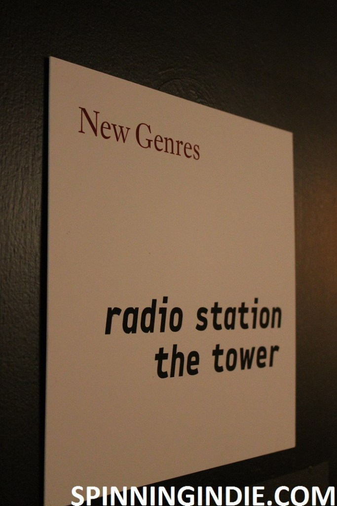 New Genres. Radio Station the Tower sign