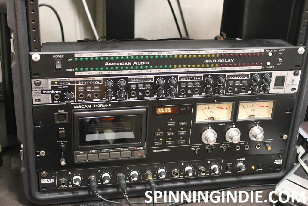 cassette player at 9th Floor Radio