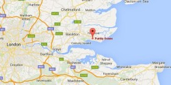 Funky Essex map