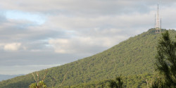 Mount Dangenong via World Radio Map