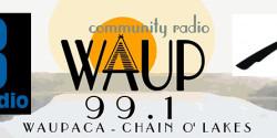 Three LPFM trivia station logos