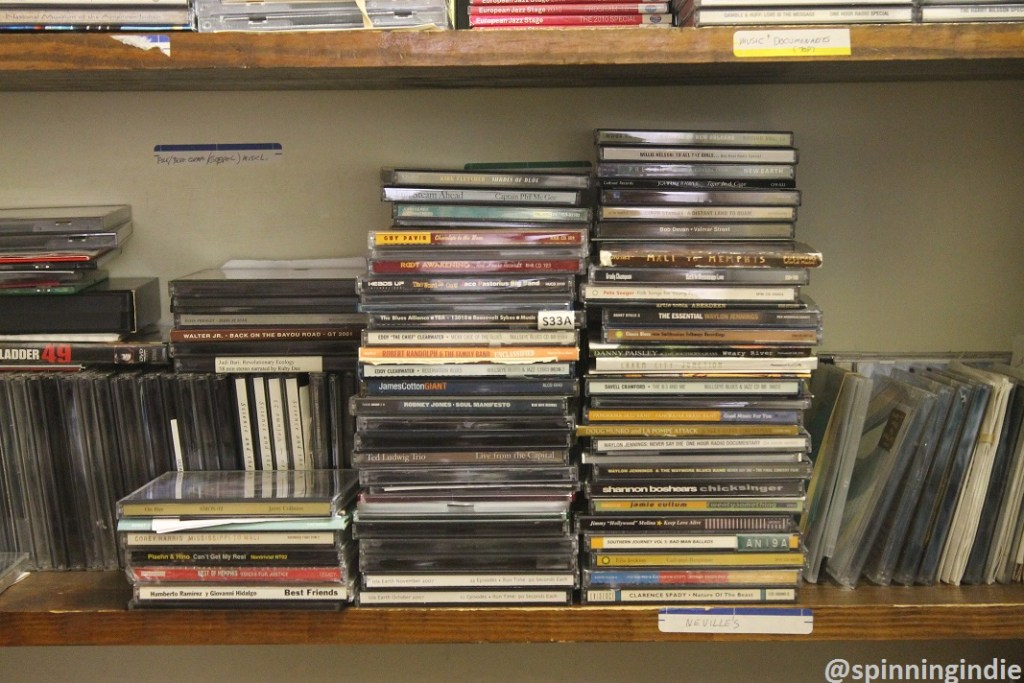 CDs in the KABF music library. Photo: J. Waits