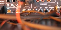 Equipment in college radio station WIIT studio in 2017. Photo: J. Waits