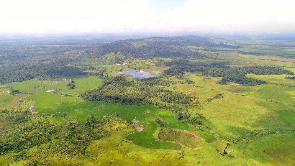 La frontera del Darién entre Panamá y Colombia
