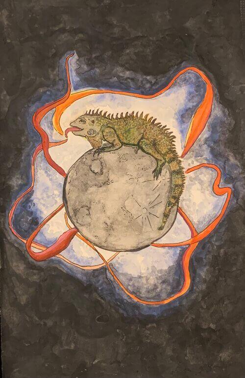 Ari Nii (febrero, luna de las iguanas)