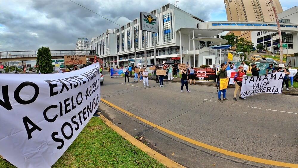 Y seguimos fuertes contra la minería en Panamá [5º semana de protesta]