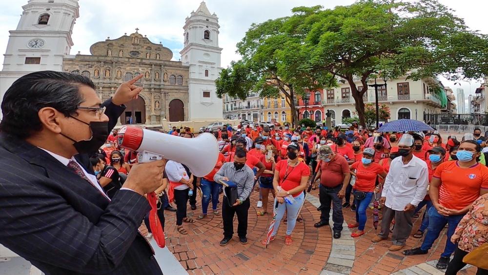 Panamá. Continúan las protestas de la Coordinadora Victoriano Lorenzo por el derecho a una vivienda digna y Constituyente Originaria