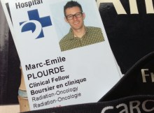 Dr Plourde, radio-oncologue