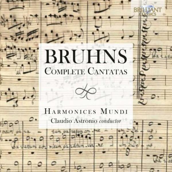 Bruhns - Complete Cantatas | Brilliant Classics 95138BR